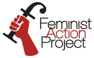 image of feminist action project logo